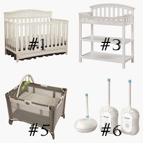 The Raven S Nest What To Put On Your Baby Registry