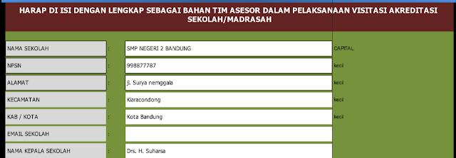 Download Aplikasi Penilaian Akreditasi Sekolah SD,SMP dan SMA