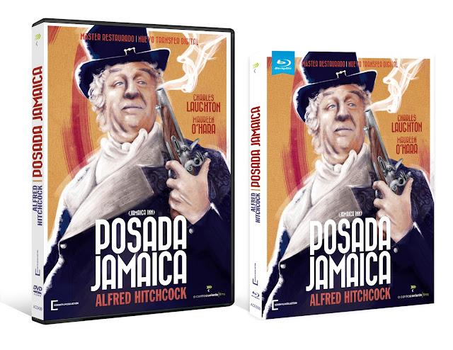A la venta en Blu-ray y DVD 'Posada Jamaica' de Alfred Hitchcock