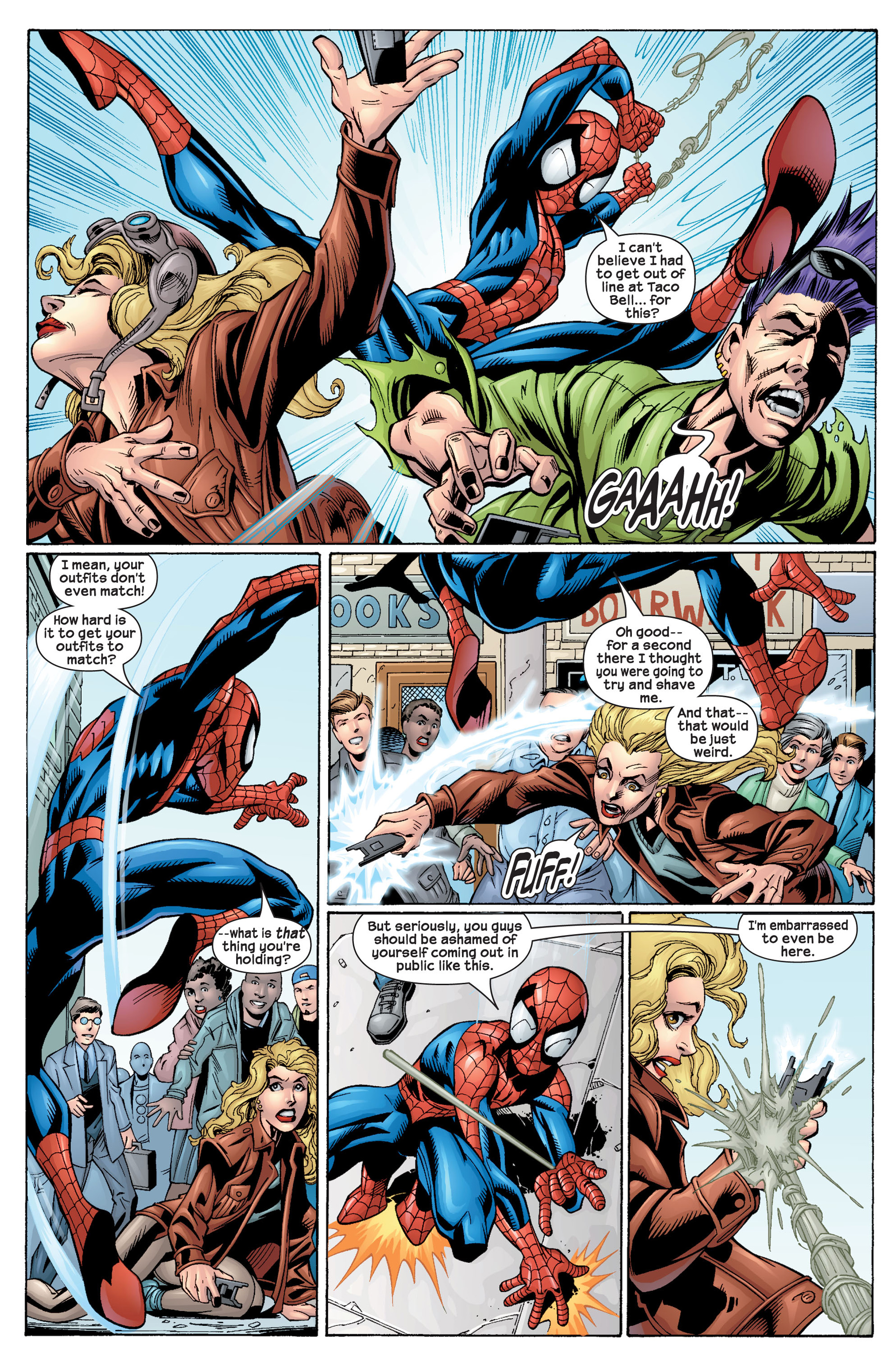 Read online Ultimate Spider-Man (2000) comic -  Issue #22 - 6