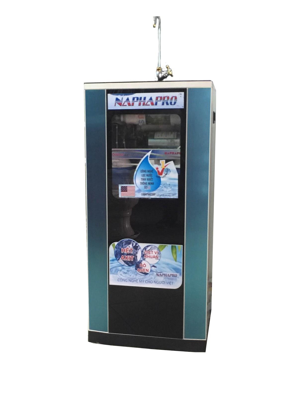 Kết quả hình ảnh cho máy lọc nước naphapro