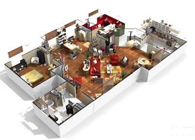 Simuladores Online de Ambientes: Pintura, Planos, Texturas, Decoración...
