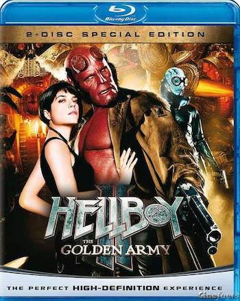 Poster Of Hollywood Hellboy 2 The Golden Army 2008 Hindi Dual Audio 300mb Compressed Small Size Pc Movie Free Download world4freein.com