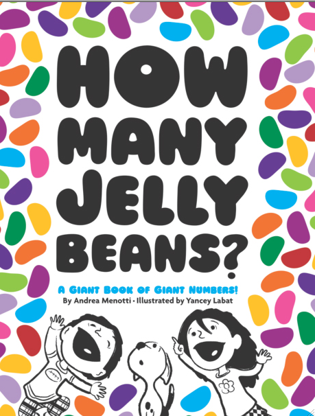 How Many Jelly Beans A Giant Book Of Giant Numbers By