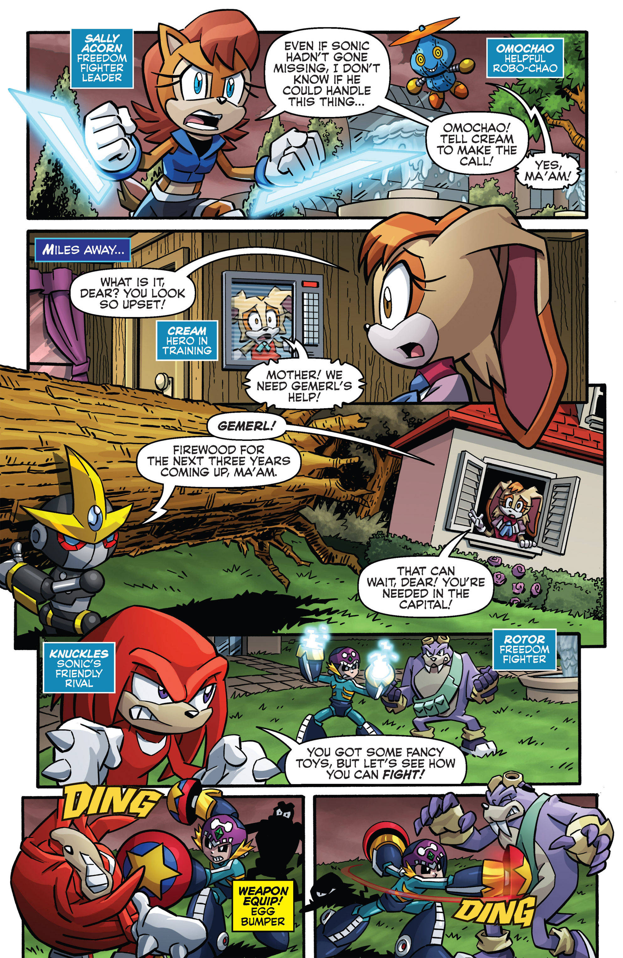 Read online Sonic The Hedgehog comic -  Issue #273 - 8
