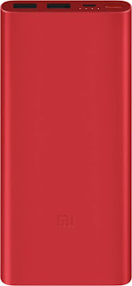 Mi 10000 mAh Power Bank (PLM09ZM, 2i)  (Red, Lithium Polymer)