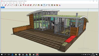 บ้านต้นแบบ File SketchUP
