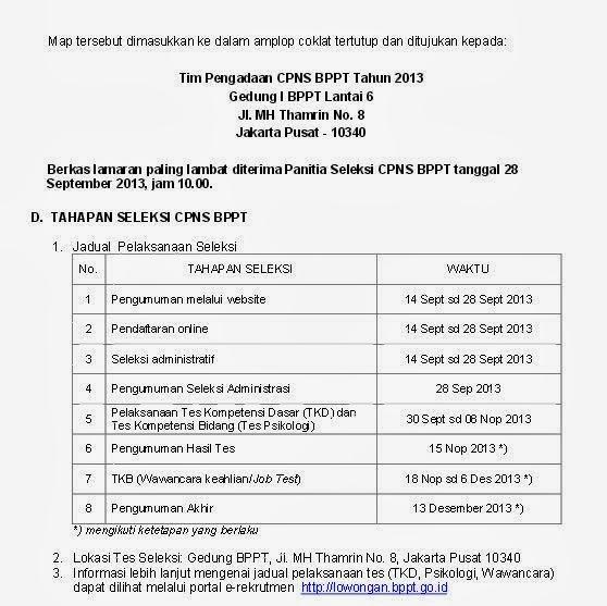 Lowongan Kerja Matematika Murni September 2013 Info Terbaru 2016 Info Harian Terbaru Lowongan Seleksi Cpns Bppt September 2013 Lowongan Kompas