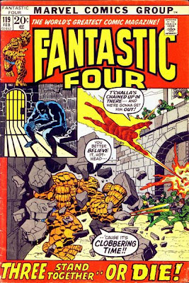 Fantastic Four #119, the Black Panther