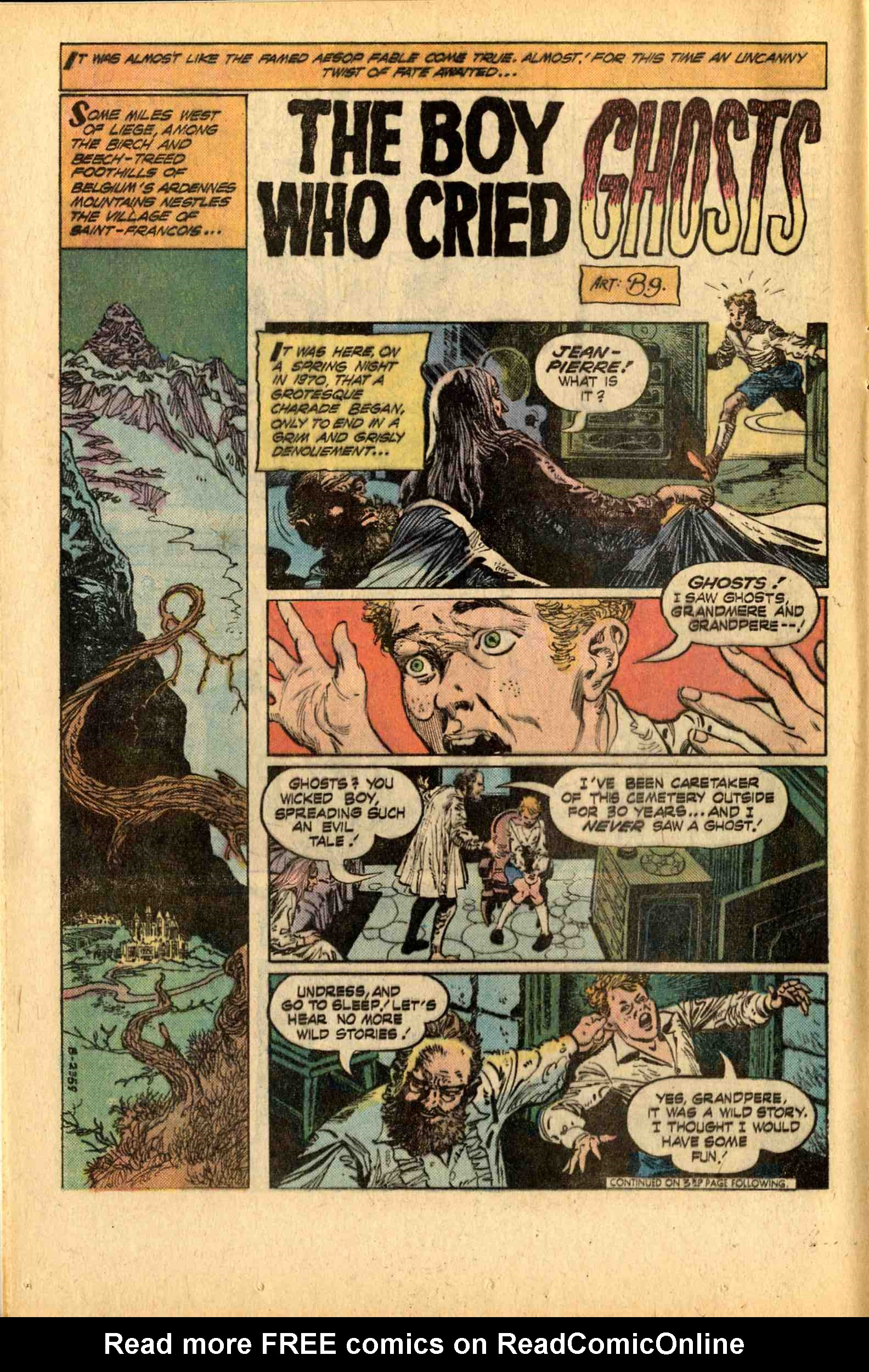 Read online Ghosts comic -  Issue #43 - 12