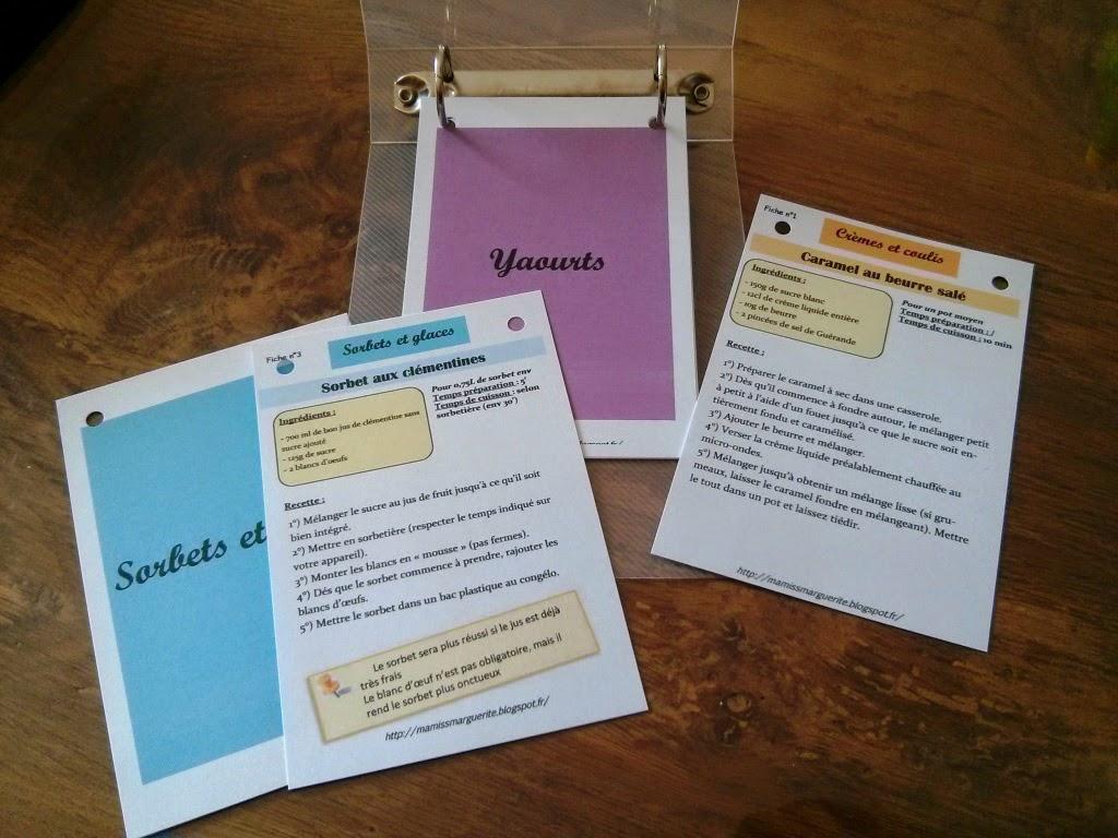 Ma miss marguerite mon projet partag mes fiches - Recette de cuisine pour l hiver ...