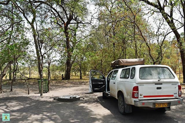 Cámping de Moremi, Botswana