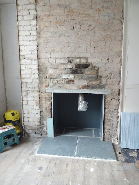 DIY fitting a hearth