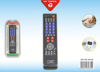 telecomano universale tv hp-9500 on tenck