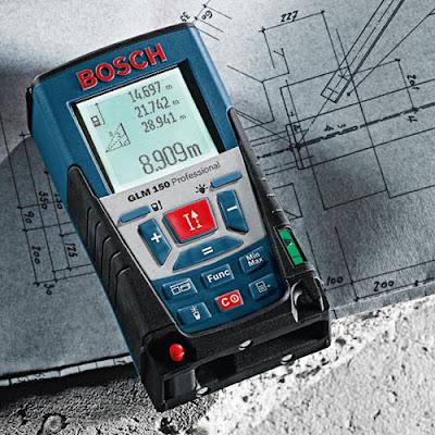 bosch glm 150 lazerli mesafe ölçüm cihazı