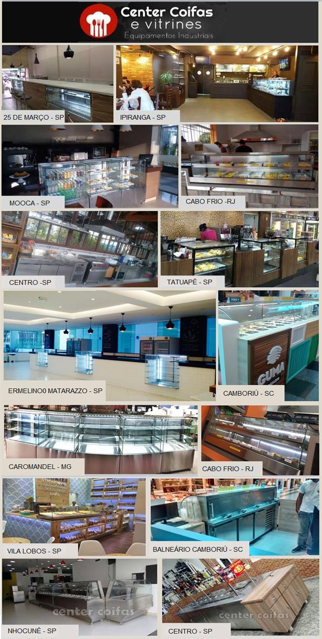 Center Coifas Equipamentos Industriais