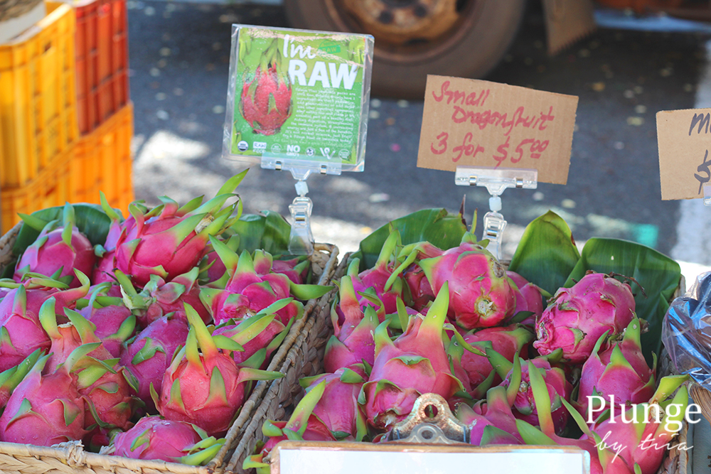 KCC Farmers market Dragonfruit