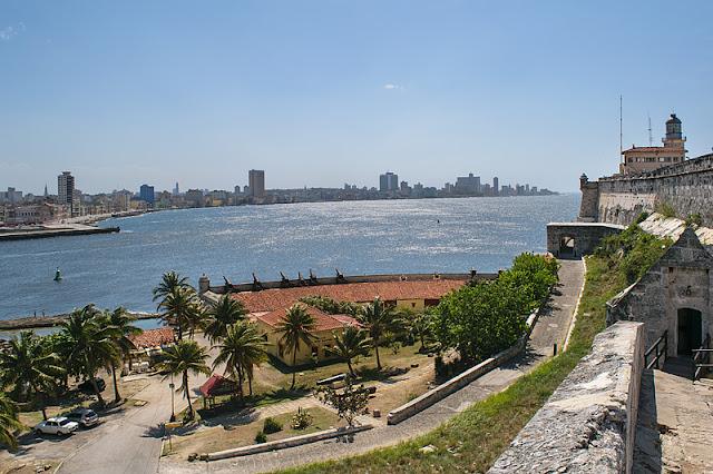 Vue sur La Havane depuis le Castillo de los Tres Reyes del Morro