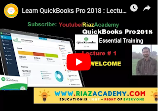 Learn Quick-books Pro 2018 : Lecture 1- Welcome