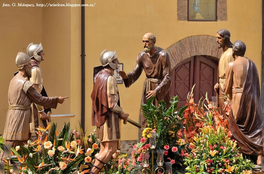 El Prendimiento. Cofradía del Dulce Nombre de Jesús Nazareno. León. Foto G. Márquez
