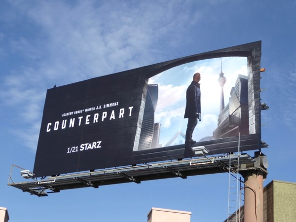 Counterpart series premiere billboard
