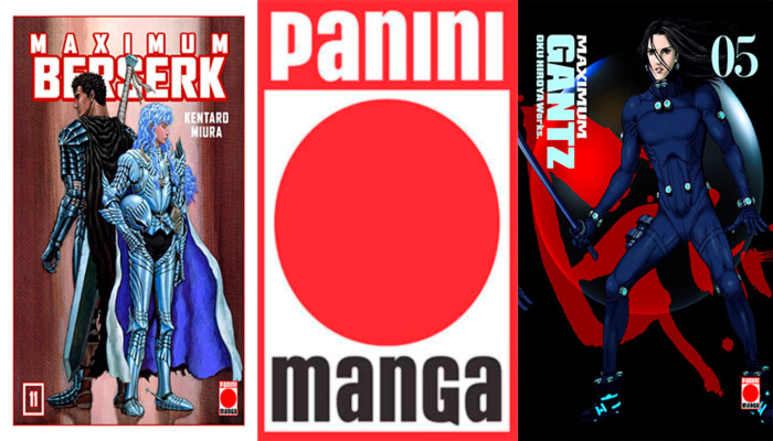Novedades Panini Comics marzo 2019: Seinen (Berserk Maximum y Gantz Maximum)