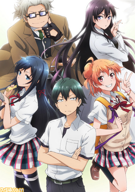 YAHARI ORE NO SEISHUN LOVE COME WA MACHIGATTEIRU [13/13+OVA] [SUB ESP][MEGA] [TEMP 1]