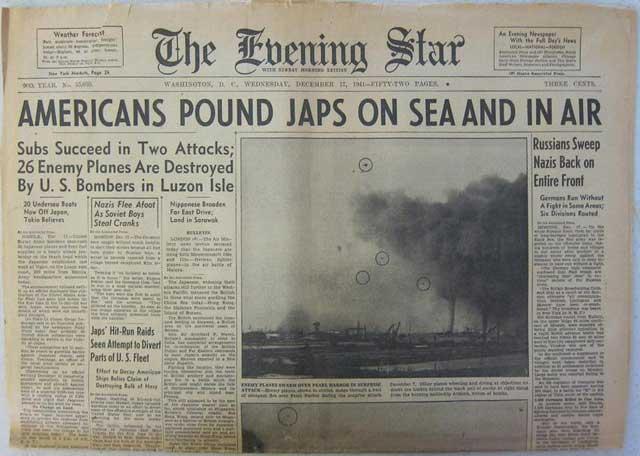 The Evening Star, 17 December 1941 worldwartwo.filminspector.com