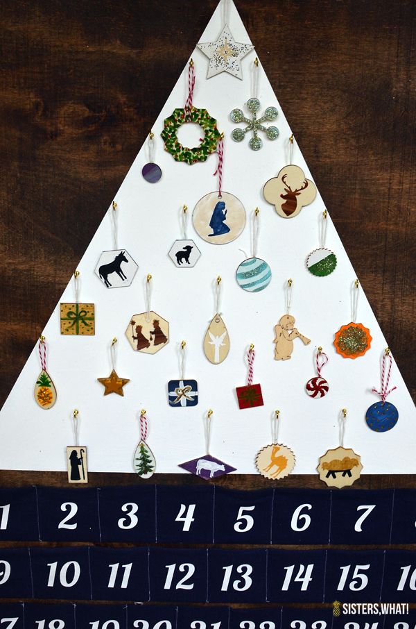 diy minimalist Christmas Advent calendar