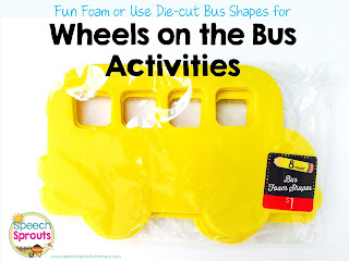 Wheels on the Bus- Activities for Speech and Language