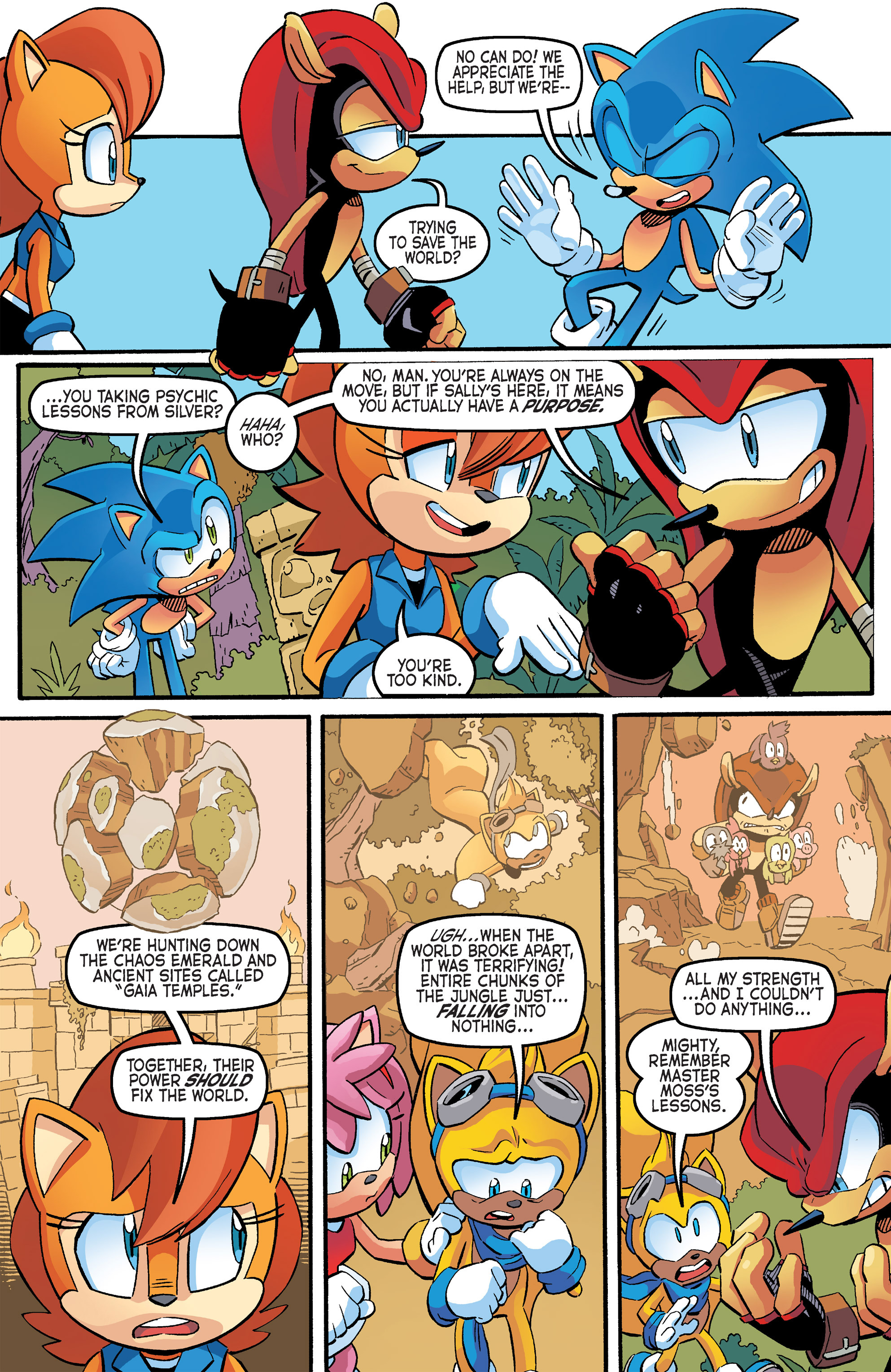 Read online Sonic The Hedgehog comic -  Issue #264 - 9