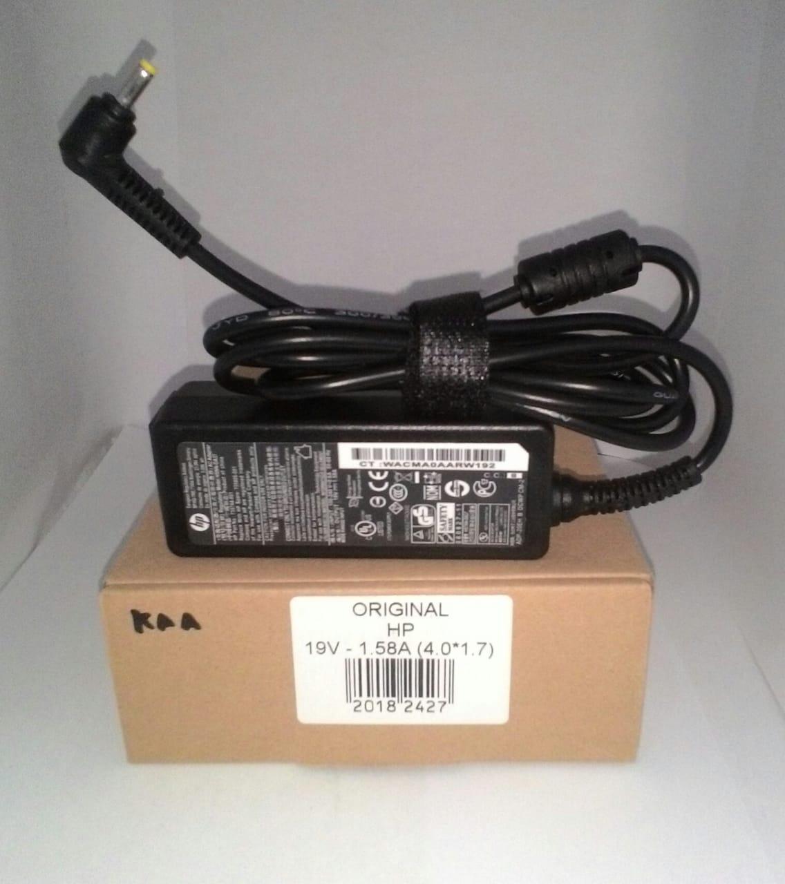 Adaptor Hp Mini 19v 1 58a Original