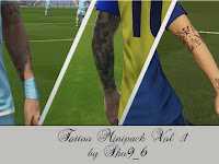 PES 2018 Mini Tattoo Pack dari Sho9_6
