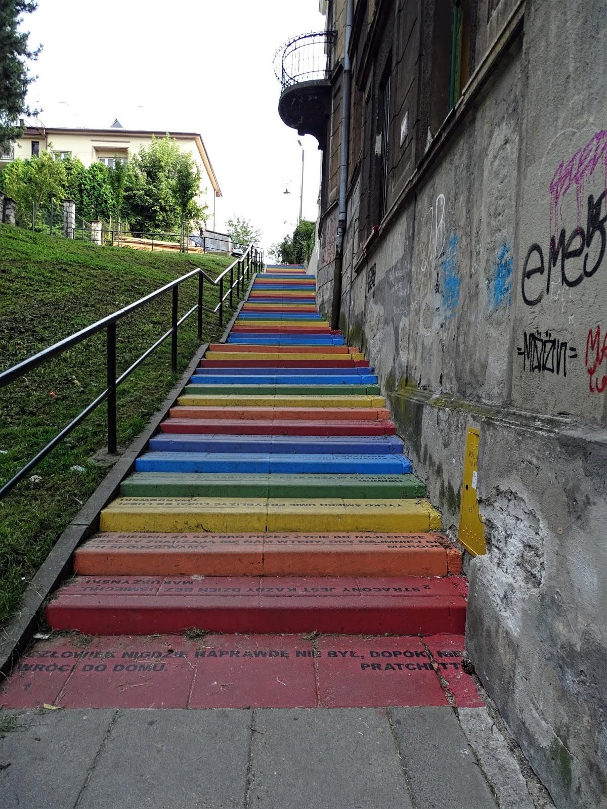Tęczowe schody, Tatrzańska