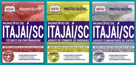 Apostila Concurso Prefeitura de Itajaí 2018