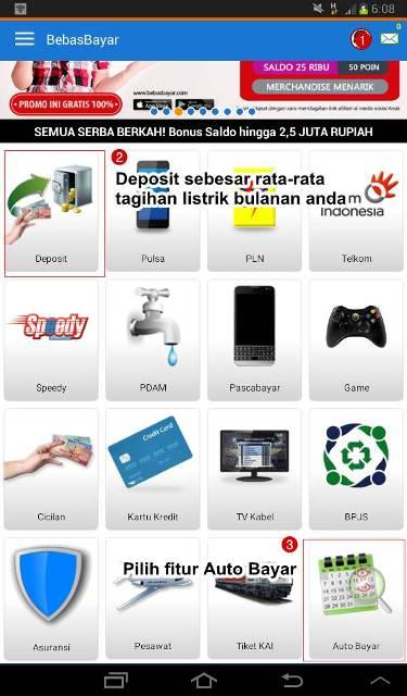 Auto Bayar Aplikasi Android Bebas Bayar