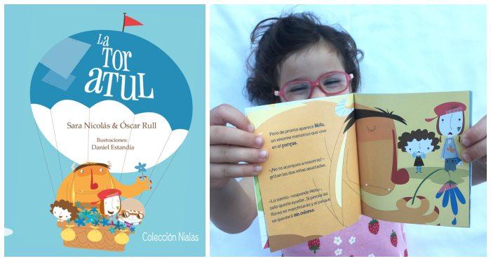 mini libros cuentos formato pequeño snacks tragamanzanas La Tor Atul