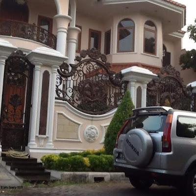 motif pagar untuk rumah klasik