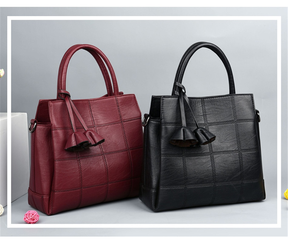 dcd7bd03591a2 Luxury Handbags Women Bags Designer Genuine Leather handbags Women Shoulder  Bag Female crossbody messenger bag sac a main F