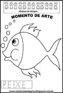 Projeto Pátria, desenho de peixe
