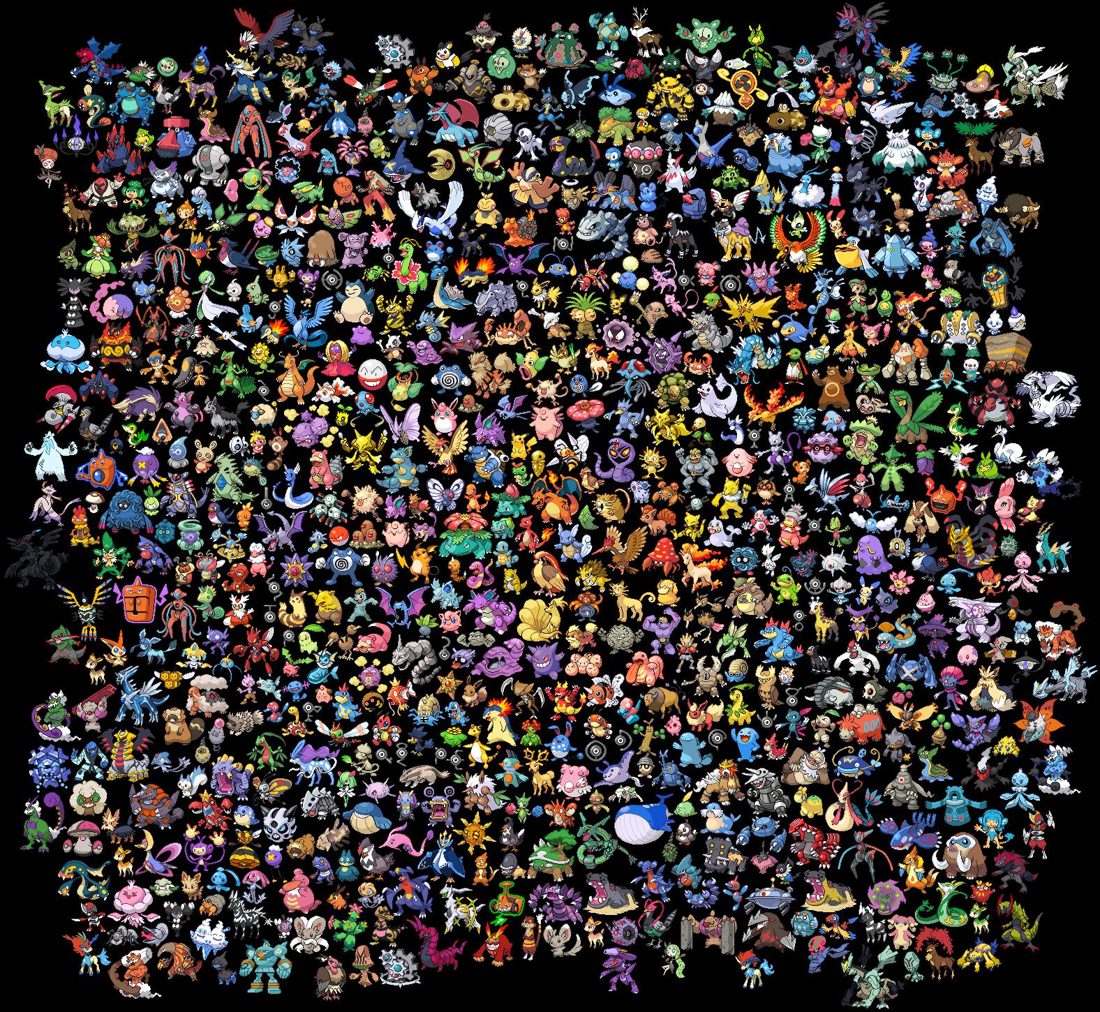 all 718 shiny pokemon - photo #8