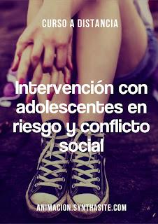 imagen curso intervencion con adolescentes en riesgo y conflicto social