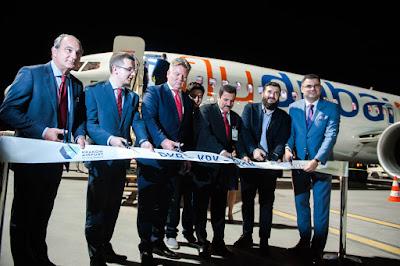 Boeing 737 MAX 8, A6-MAX, flydubai - inauguracja połączenia Dubaj - Kraków