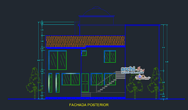 Houseroom in AutoCAD
