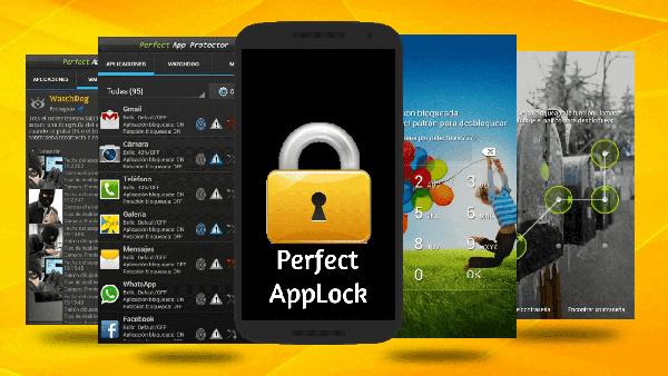 برنامج قفل التطبيقات  perfect app lock