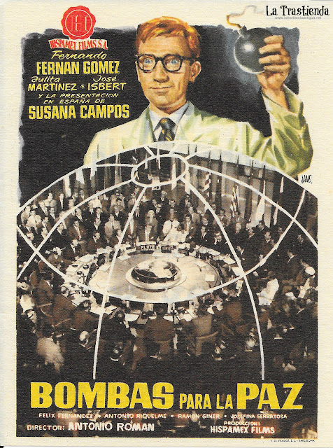 Bombas para la Paz - Programa de Cine - Fernando Fernán Gómez - Julia Martínez - José Isbert