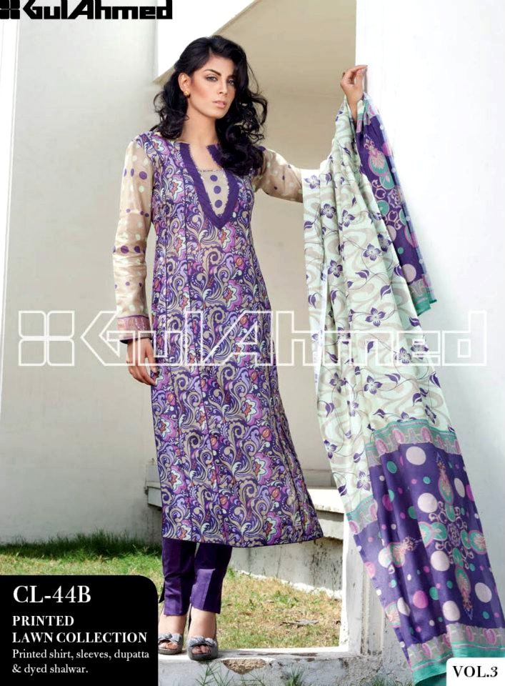 9395dc0cb4 Gul Ahmed Summer Lawn Collection 2013 Vol 3 | New Summer Lawn ...