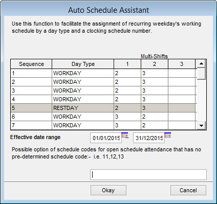 Scheduling in Workforce Made Easy by FingerTec - FINGERTEC OFFICIAL - shift workers schedule