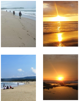 Wisata Pantai Pasir Putih Sawarna