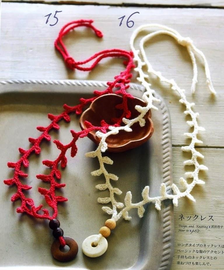 Colgante Crochet Ramitas de Olivo